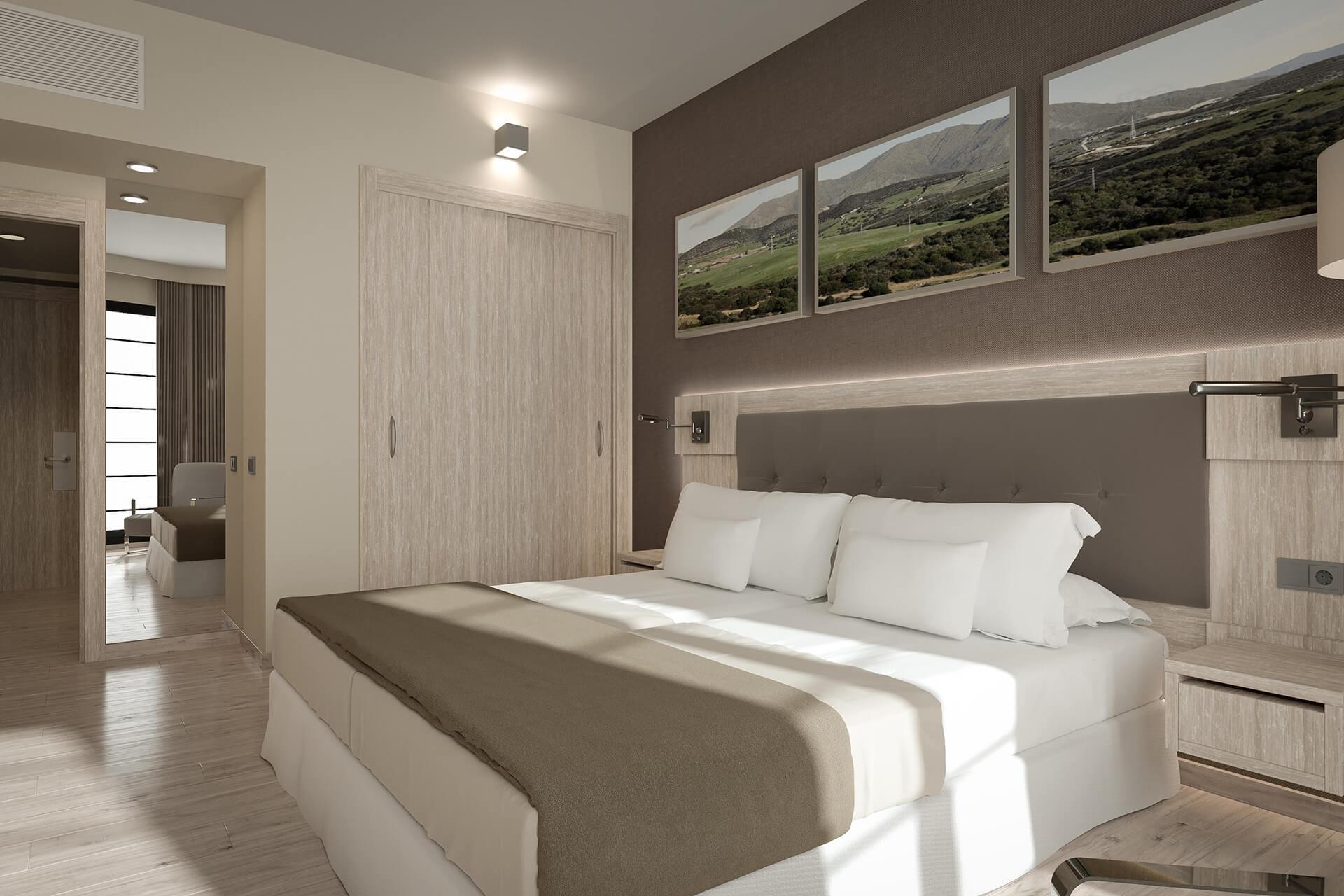 Render Habitación De Hotel Estepona