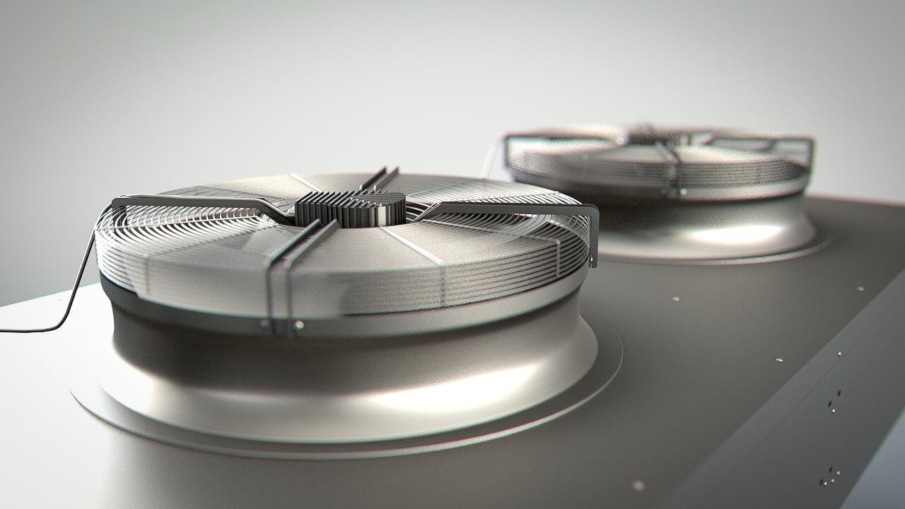 Modelado 3D Condensadores Y Evaporadores