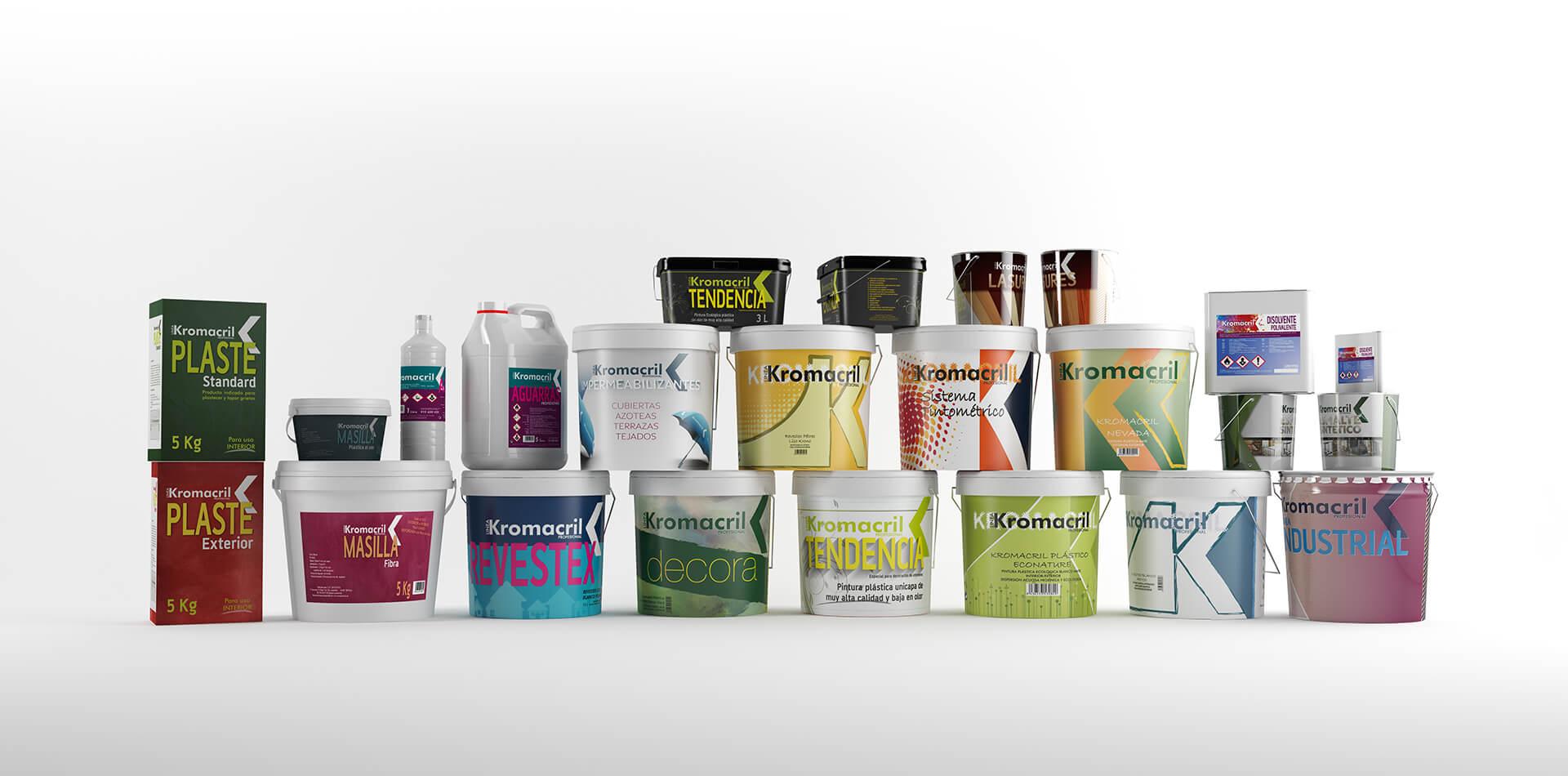 Packaging Productos Kromacril