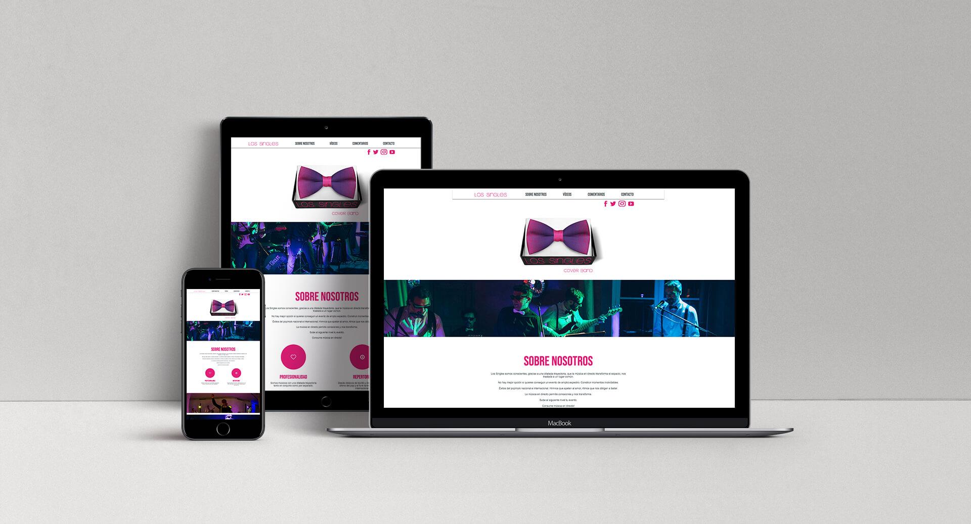 Diseño Web Los Singles