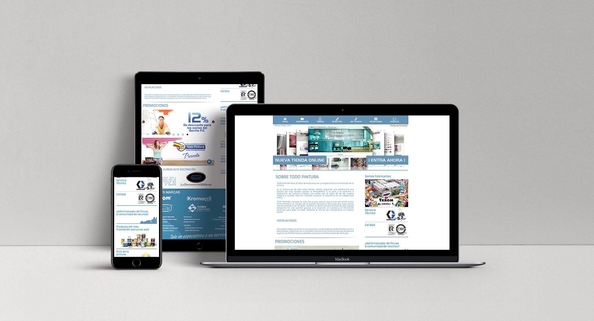 Diseño Web Todo Pintura