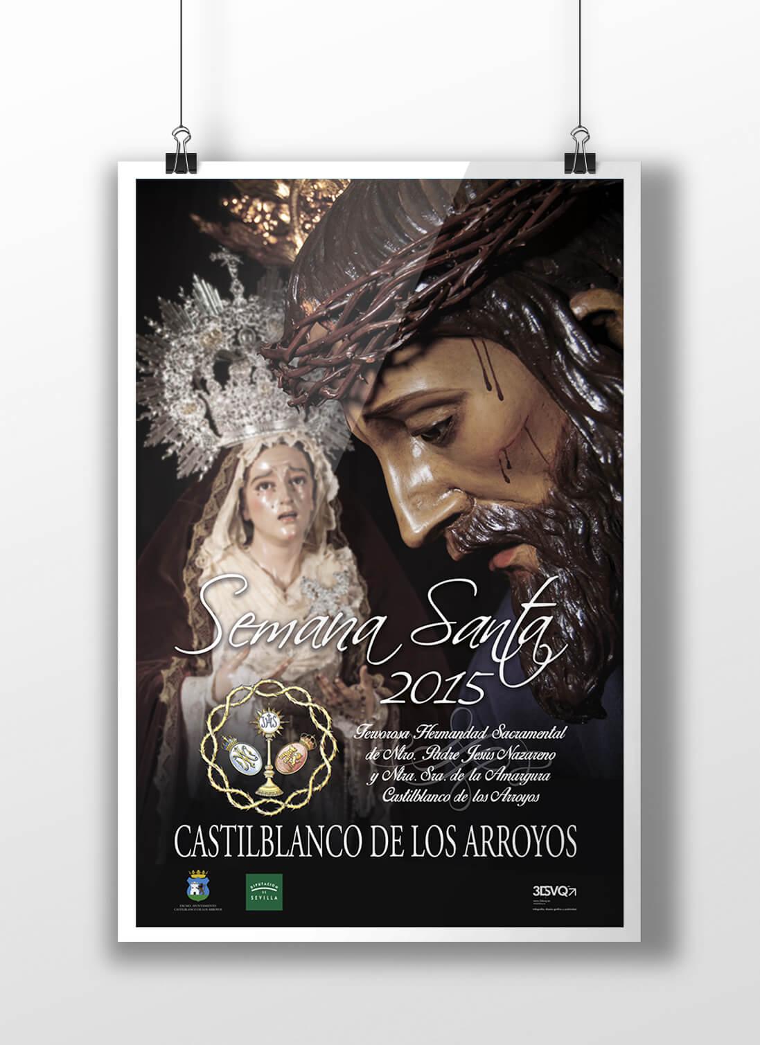 Cartel Semana Santa Castilblanco Arroyos 2015