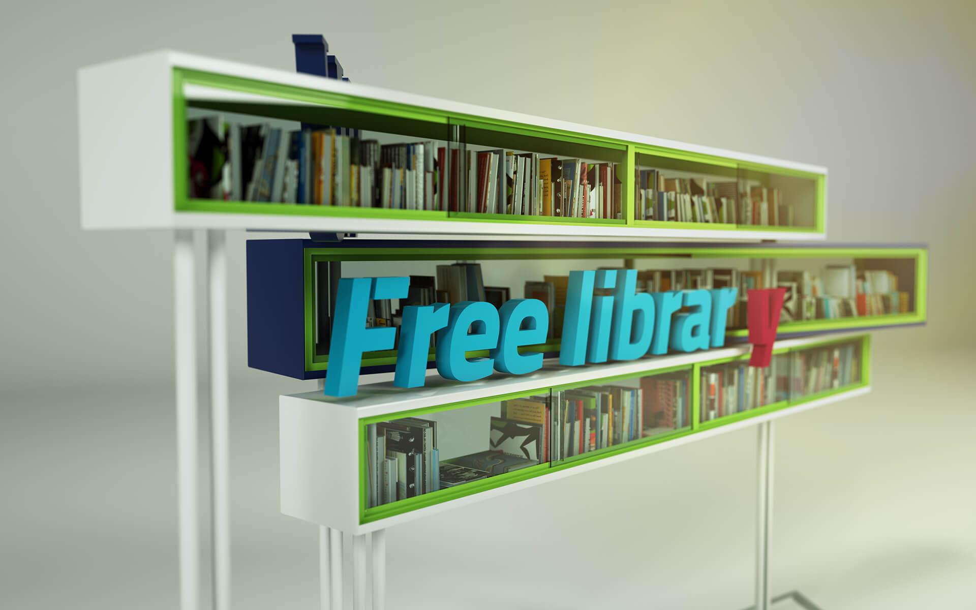 Free Library Wirtschaftsuniversität Wien (Viena)