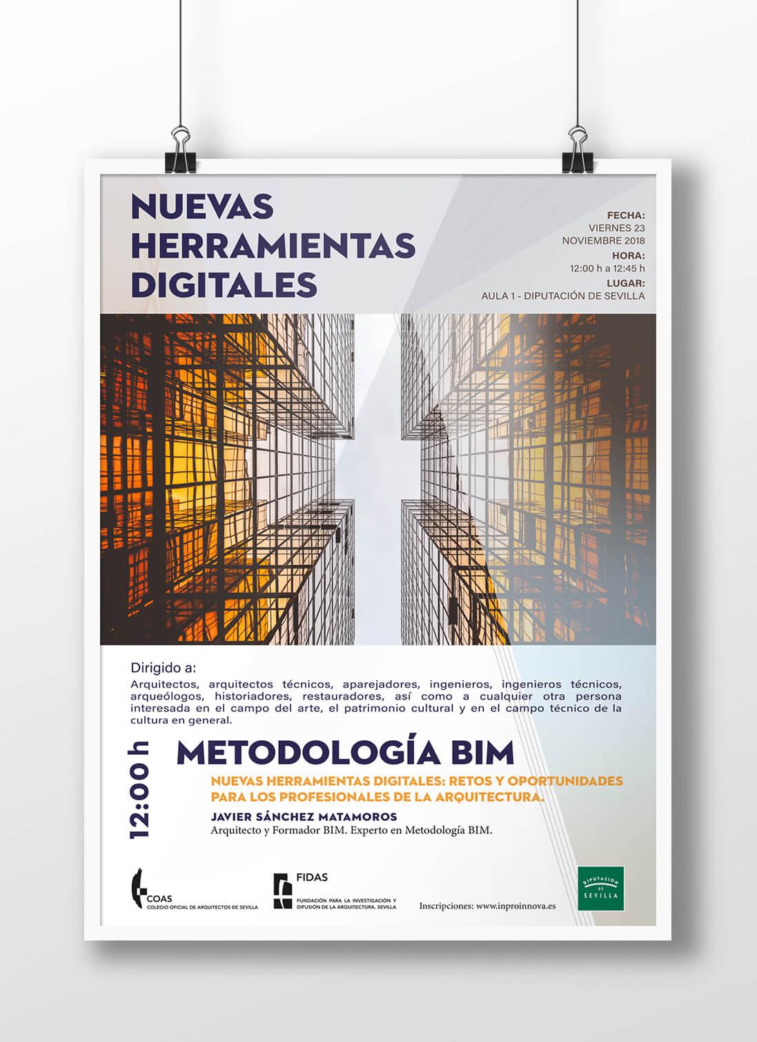 Cartelería Para Colegio Oficial Arquitectos Sevilla